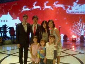 Our family with Pastor Kong and Sun